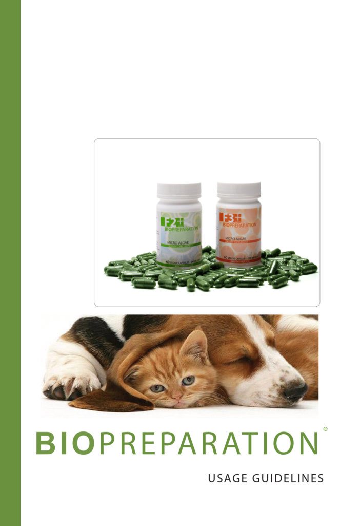 BIOPREPARATION DOG-CAT GUIDELINES