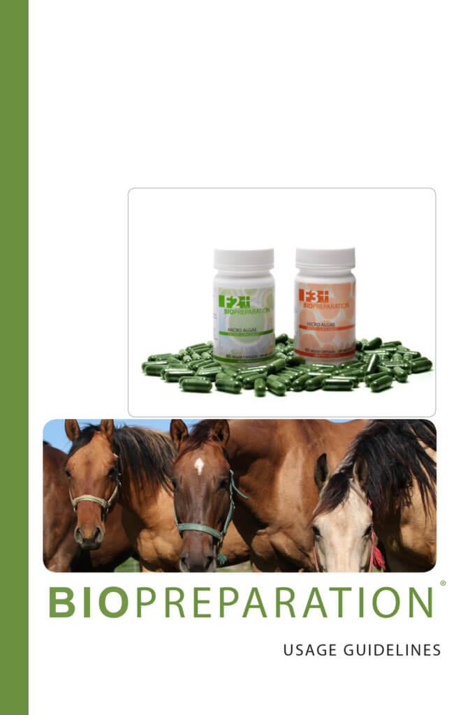 BIOPREPARATION HORSE GUIDELINES